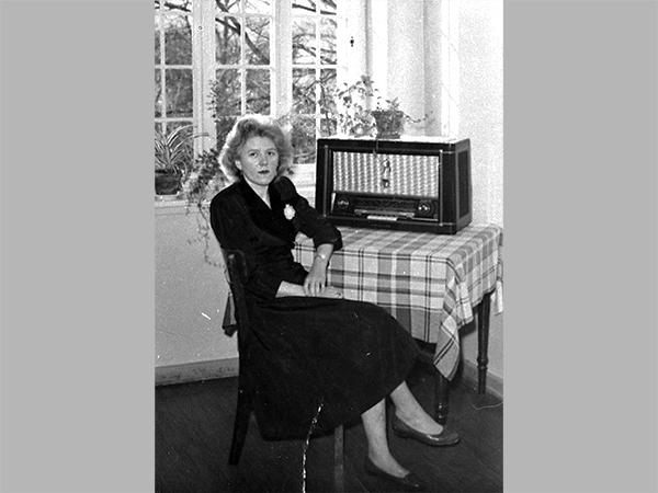 Elfriede Schneider in den 1950er Jahren (Quelle: Privat E.Schneider)