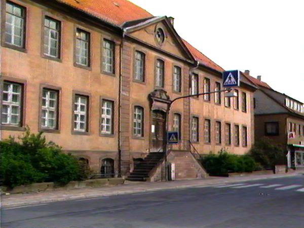 Ehemaliges Werkhaus in Moringen, Frauen KZ von 1934 bis 1938 (Dreharbeiten 1984)