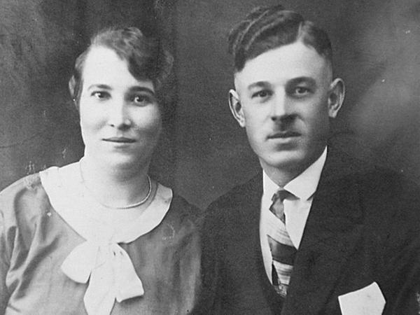Friedrich Klingenberg mit Ehefrau vor der Haft (Quelle: Privat F. Klingenberg)