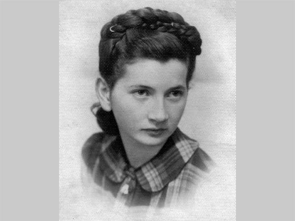 Batsheva Dagan (Isabella Rubinstein) vor dem 2. Weltkrieg (Quelle: Privat B. Dagan)